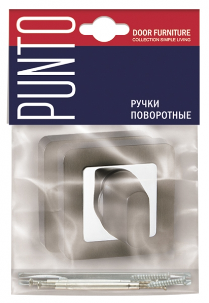 Ручка поворотная BK6 QR GR/CP-23 PUNTO