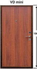 Модель VD-00 70мм Груша
